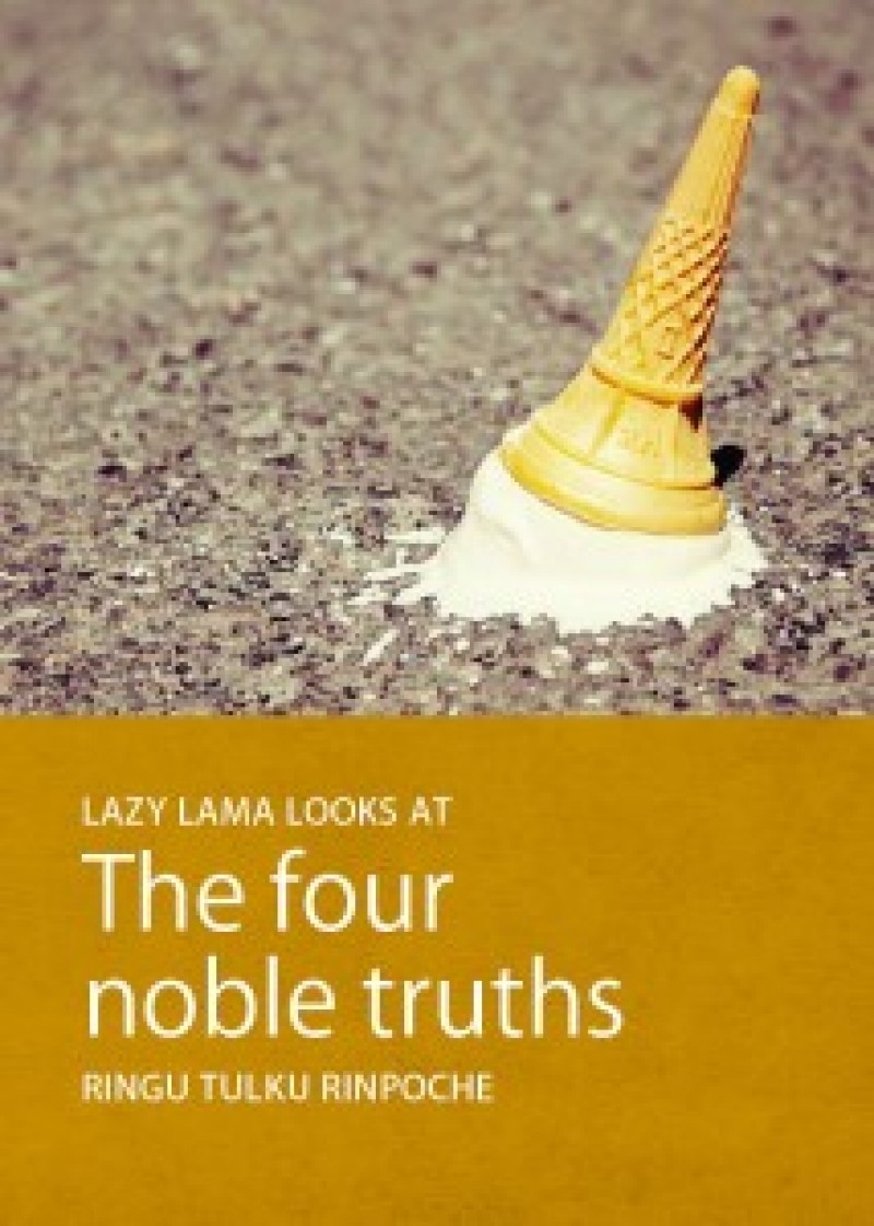 the four noble truths paper The first of the buddha's sermons after his enlightenment was describing the four noble truths that life brings suffering, that suffering is part of living, that suffering can be ended and that there is a path that leads to the end of suffering.