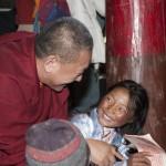 Ringu Tulku Rinpoche in Tibet credit Francois red