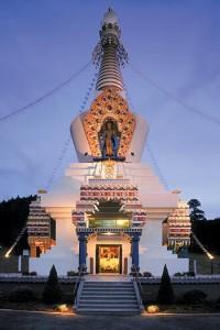 Great Stupa, Shambhala Mountain Center (credit: shambhala.org)
